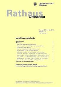 Rathaus Umschau 173 / 2016