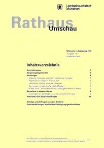 Rathaus Umschau 175 / 2016