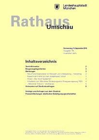 Rathaus Umschau 176 / 2016