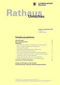 Rathaus Umschau 177 / 2016