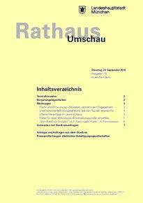Rathaus Umschau 179 / 2016