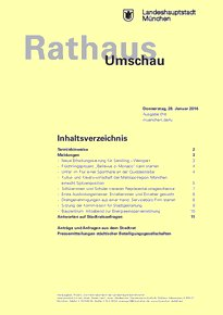 Rathaus Umschau 18 / 2016