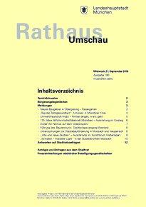 Rathaus Umschau 180 / 2016
