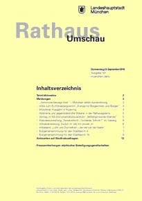 Rathaus Umschau 181 / 2016