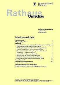 Rathaus Umschau 182 / 2016