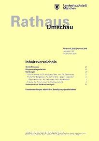 Rathaus Umschau 185 / 2016