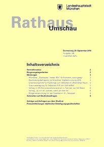 Rathaus Umschau 186 / 2016