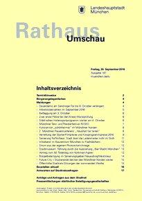 Rathaus Umschau 187 / 2016