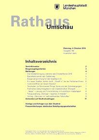 Rathaus Umschau 188 / 2016