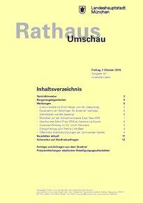 Rathaus Umschau 191 / 2016