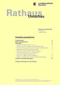 Rathaus Umschau 192 / 2016