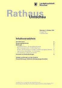 Rathaus Umschau 193 / 2016