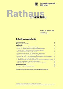Rathaus Umschau 196 / 2016