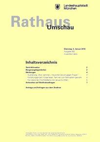 Rathaus Umschau 2 / 2016
