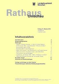Rathaus Umschau 201 / 2016