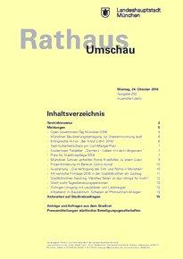 Rathaus Umschau 202 / 2016