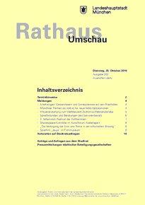 Rathaus Umschau 203 / 2016