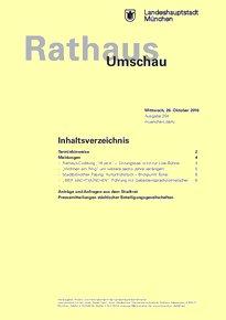 Rathaus Umschau 204 / 2016