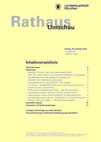 Rathaus Umschau 206 / 2016