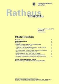 Rathaus Umschau 209 / 2016