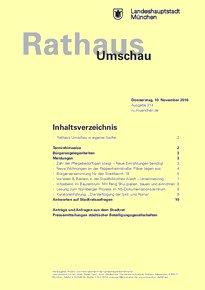 Rathaus Umschau 214 / 2016