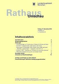 Rathaus Umschau 215 / 2016