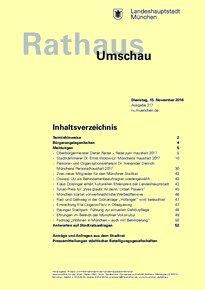 Rathaus Umschau 217 / 2016