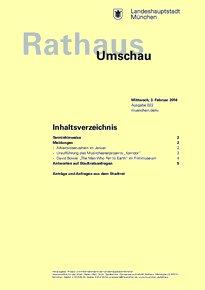Rathaus Umschau 22 / 2016