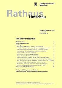 Rathaus Umschau 220 / 2016