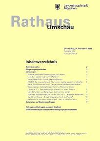 Rathaus Umschau 224 / 2016