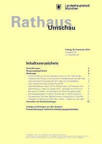 Rathaus Umschau 225 / 2016