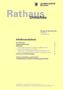 Rathaus Umschau 227 / 2016