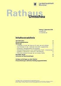 Rathaus Umschau 230 / 2016