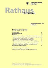 Rathaus Umschau 234 / 2016