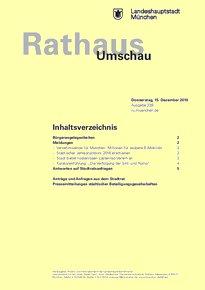 Rathaus Umschau 239 / 2016