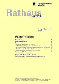 Rathaus Umschau 241 / 2016
