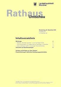 Rathaus Umschau 244 / 2016