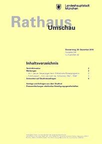 Rathaus Umschau 248 / 2016