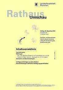 Rathaus Umschau 249 / 2016