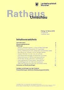 Rathaus Umschau 28 / 2016