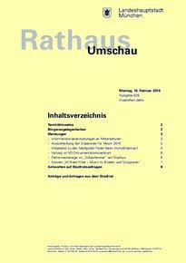 Rathaus Umschau 29 / 2016