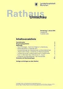 Rathaus Umschau 3 / 2016
