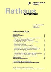Rathaus Umschau 33 / 2016