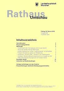 Rathaus Umschau 38 / 2016