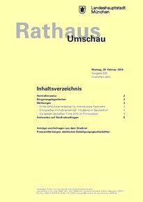 Rathaus Umschau 39 / 2016