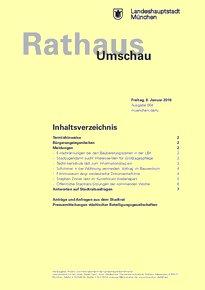 Rathaus Umschau 4 / 2016