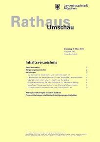 Rathaus Umschau 40 / 2016