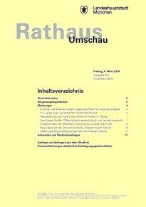 Rathaus Umschau 43 / 2016