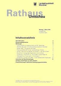 Rathaus Umschau 44 / 2016