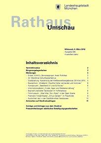Rathaus Umschau 46 / 2016